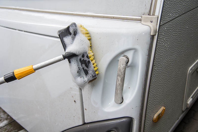 Caravan Cleaning Services in Chesterfield Derbyshire